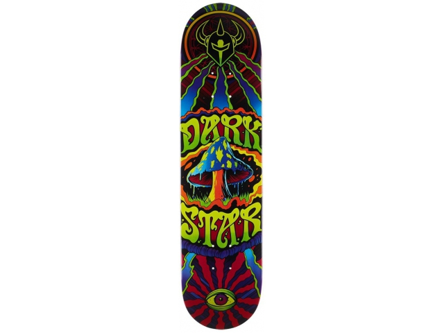 Placa Skate Darkstar Trippy Hyb Maroon 7.75