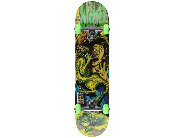 Skate Complet Blind Cat Scratch Green/yellow 7.75