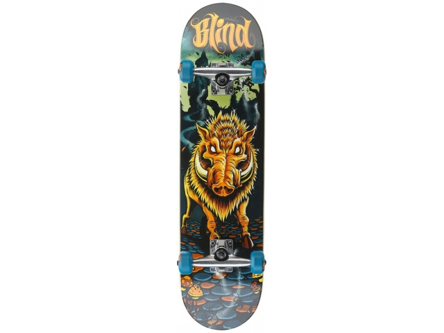 Skate Complet Blind Golden Boar Blue/orange 8.0