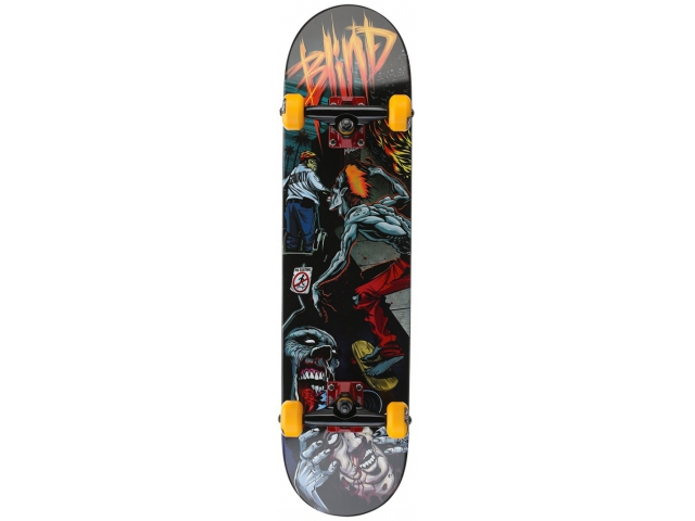 Skate Complet Blind Mall Zombie Orange/grey 7.625