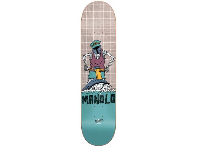Placa Skate Darkstar Manolo Murk Lurks 8.25