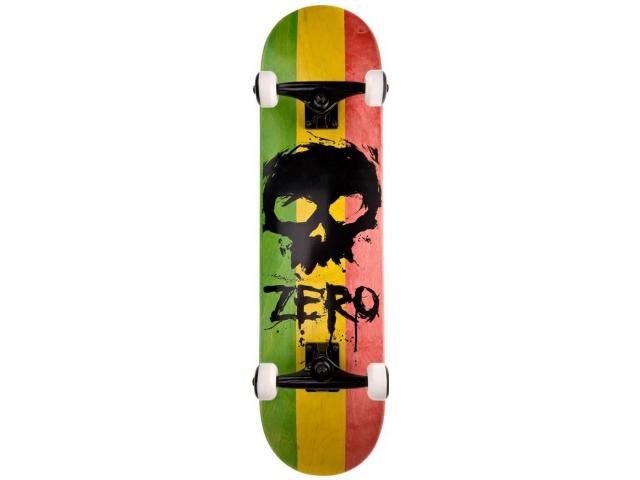 Skate Complet Zero Sandoval Rasta Complete 8.0