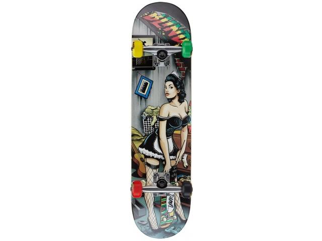 Skate Complet Blind Skater Maid Complete Rasta 7.75
