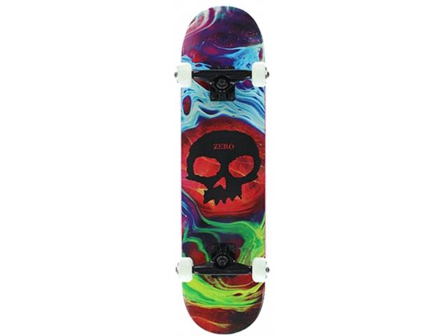 Skate Complet Zero Tempest Skull Complete Brockman