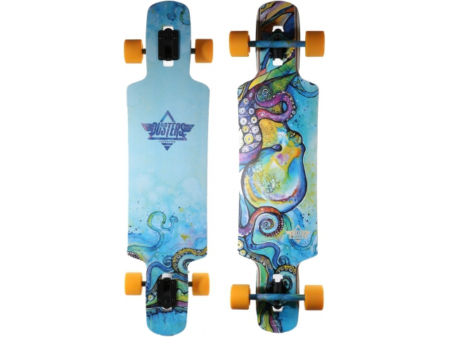 Longboard Dusters Kraken Longboard Blue/purple 38.5