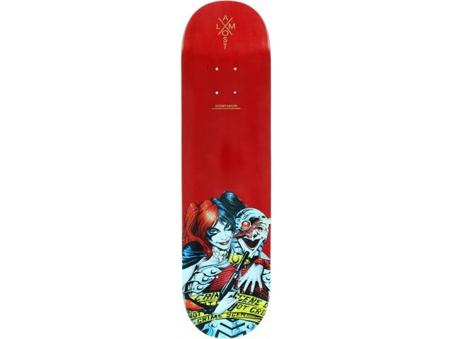 Placa Skate Almost Mullen Justice League 8.13