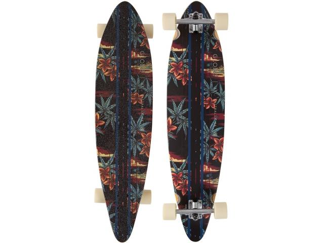 Longboard Globe Pinner Complete Black/red/pakalolo 41.25