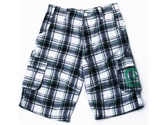 Pantaloni Scurti Animal Orkney Kids Cargo Short White