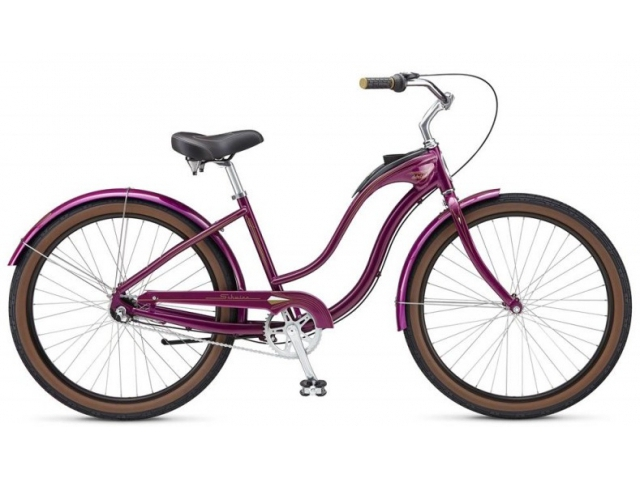 City Bike & Cruiser Schwinn Bikes Debutante Purple
