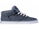 Shoes Globe Motley Mid Blue Chambray