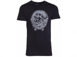 Tricou Volcom Gnar Skull Lightweight Black