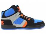 Shoes copii Osiris NYC 83 Kids Black/Astor/Orange
