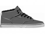 Shoes Globe Motley Mid Fur Charcoal