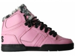 Shoes Osiris NYC 83 SHR W Pink/Black/Ceetah