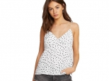 Volcom Good To Be You Tank White (thumb #0)