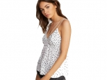 Volcom Good To Be You Tank White (thumb #1)