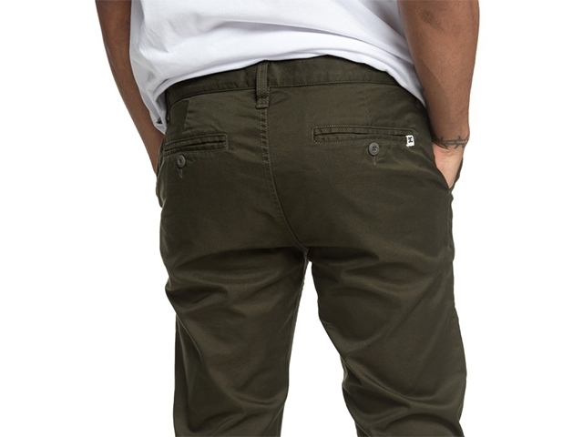 DC Worker Straight Fit Dark Olive