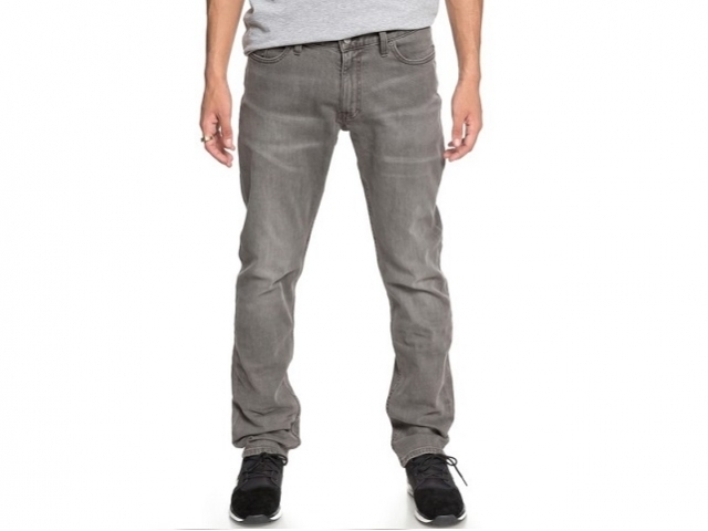 DC Worker Straight Fit Jeans Light Grey (detaliu #0)