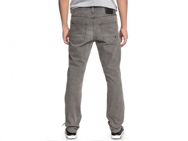 DC Worker Straight Fit Jeans Light Grey (detaliu #1)