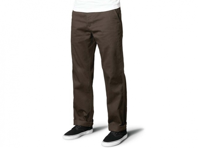 Emerica Defy Chino Dark Brown