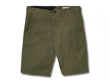 Volcom Frickin Modern Stretch Short 19 Army (thumb #0)