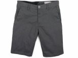 Volcom Frickin Modern Stretch Short 21 Charchoal Heather (thumb #0)