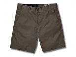 Volcom Frickin Modern Stretch Short 21 Mushroom (thumb #0)