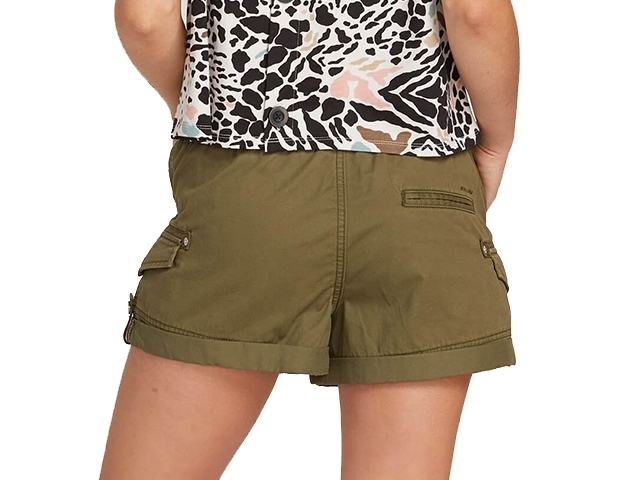 Volcom Stash Short Dark Camo (detaliu #2)