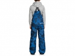 DC Banshee Bib Youth Monaco Blue Pill Camo (#2)