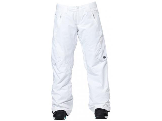 Pantaloni snowboard DC Lace Ws White
