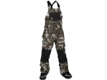 Volcom Barkley Bib Overall Youth GI Camo