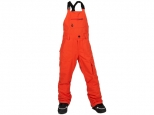 Volcom Barkley Bib Overall Youth Orange (thumb #0)