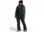 Volcom Swift Bib Overall Black (thumb #1)