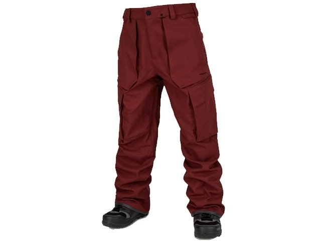 Volcom V.CO Twenty One Pant Burnt Red (detaliu #0)