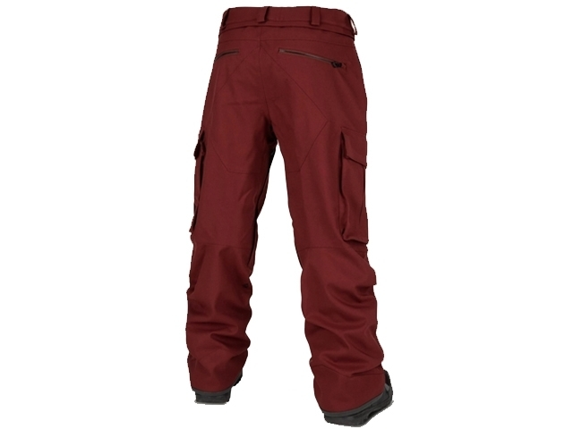 Volcom V.CO Twenty One Pant Burnt Red (detaliu #1)