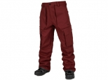 Volcom V.CO Twenty One Pant Burnt Red (thumb #0)