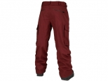 Volcom V.CO Twenty One Pant Burnt Red (#1)