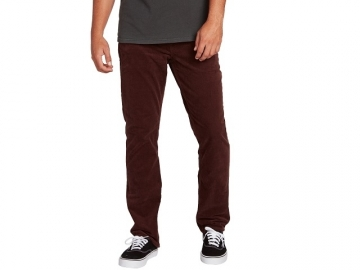 Volcom Solver 5 Pkt Cord Bordeaux Brown (thumb #0)
