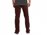 Volcom Solver 5 Pkt Cord Bordeaux Brown
