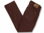 Volcom Solver 5 Pkt Cord Bordeaux Brown (thumb #3)