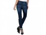 Volcom Super Stoned Skinny Double Down Indigo (thumb #1)