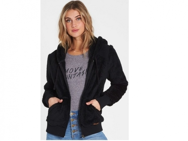 Billabong Cozy Down Polar Fleece Black (detaliu #0)