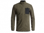 Quiksilver Butter Technical Zip-Up Fleece Grape Leaf
