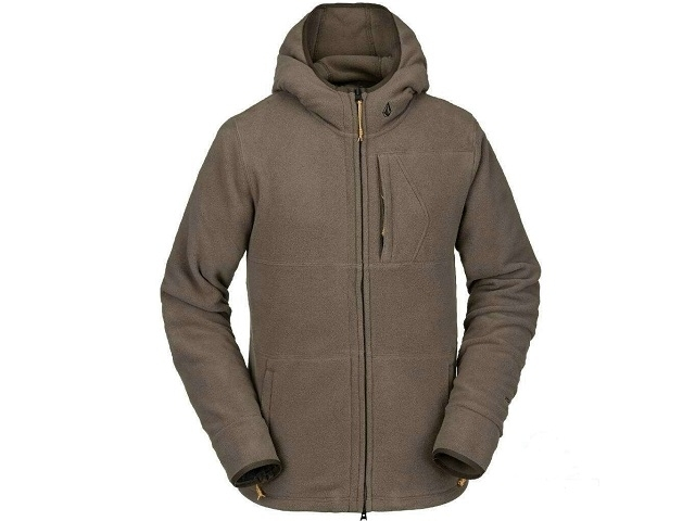 Volcom POLARTEC® Fleece Dark Teak (detaliu #0)