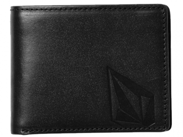 Volcom Straight LTH Wallet Black (thumb #0)