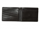 Volcom Straight LTH Wallet Black (thumb #1)