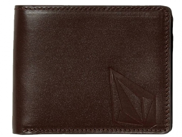 Volcom Straight LTH Wallet Brown (thumb #0)