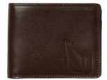 Volcom Straight LTH Wallet Brown