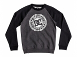 DC Circle Star Kids Black/Charcoal Heather (thumb #0)