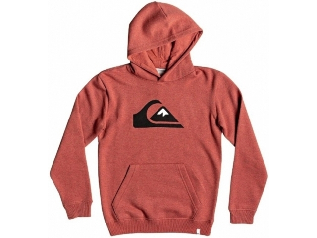 Quiksilver Big Logo Barn Red Heather